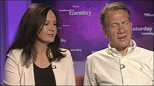 Caroline Flint and Michael Portillo