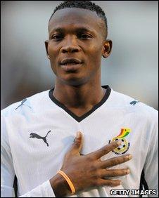 Ghana defender John Pantsil