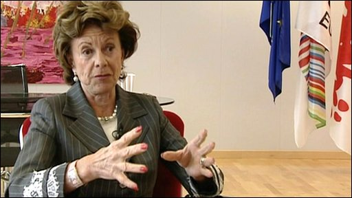Neelie Kroes is the Digital Affairs Commissioner at the European Commission