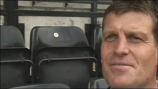 Notts County manager Craig Short
