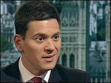 David Miliband, Shadow Foreign Secretary