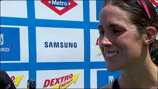 Brit triathlete Helen Jenkins