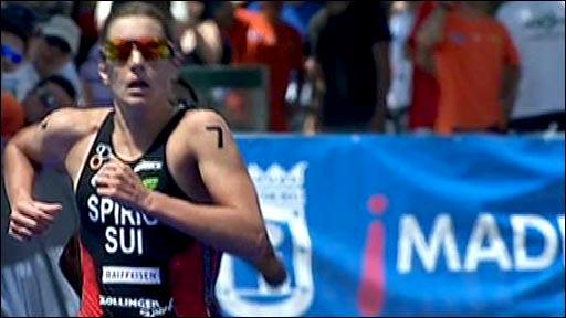 Women's Elite Triathlon winner Nicola Spirig