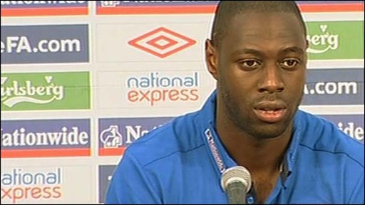 England defender Ledley King