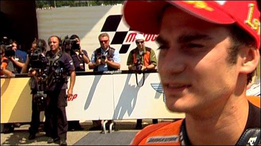Italian MotoGP winner Dani Pedrosa