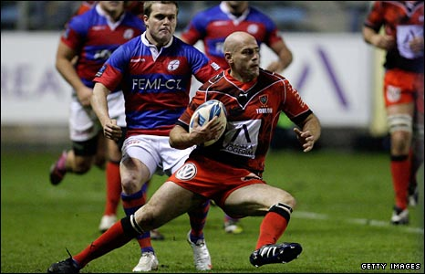 Felipe Contepomi in acton for Toulon