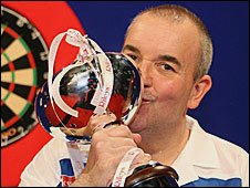 UK Open champion Phil Taylor