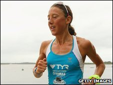 World Champion triathlete Chrissie Wellington