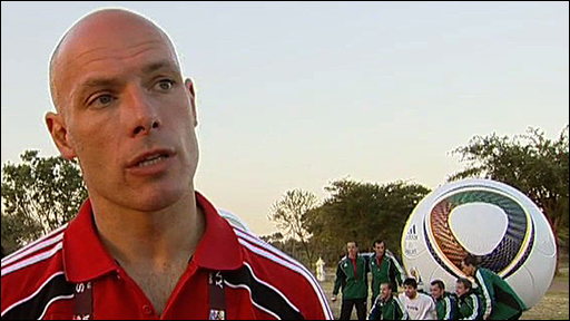 World Cup referee Howard Webb