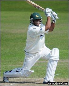 Nottinghamshire batsman Samit Patel