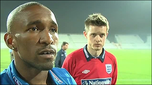 Spurs & England striker Jermain Defoe