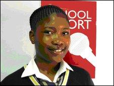 School Reporter Zandile, 14, South Africa
