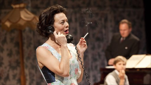 Helen McCrory in 'The Late Middle Classes'