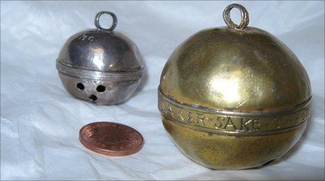 Tudor silver bells