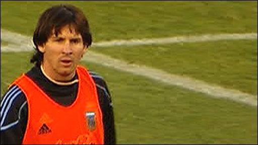 Argentina & Barcelona star Lionel Messi