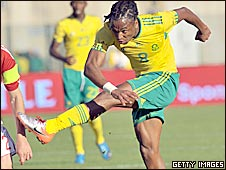 South Africa winger Siphiwe Tshabalala