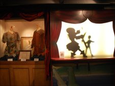 Peter Pan memorabilia in Barrie's Birthplace Museum in Kirriemuir (image permission courtesy of NTS)