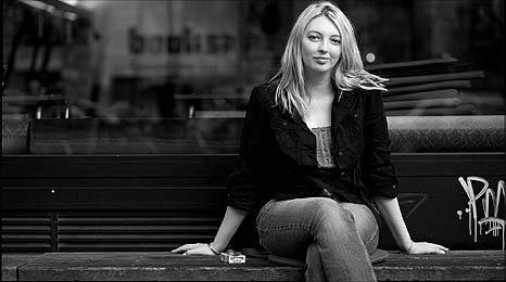 black and white image of Rachel