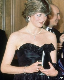 Lady Diana Spencer in 1981