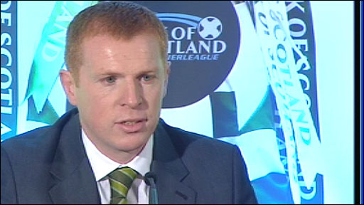 New Celtic manager Neil Lennon