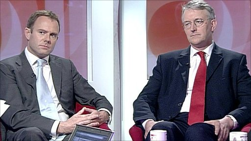 Nick Herbert and Hilary Benn