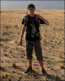 Justin Bowyer in Namibia