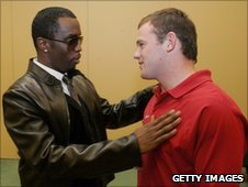 Diddy and Wayne Rooney in 2006