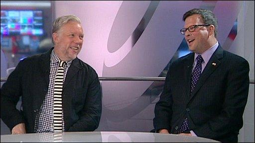 Mark Webster and Donald Maynard