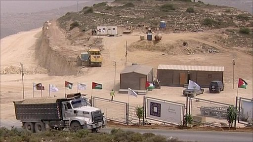 Development in the West Bank