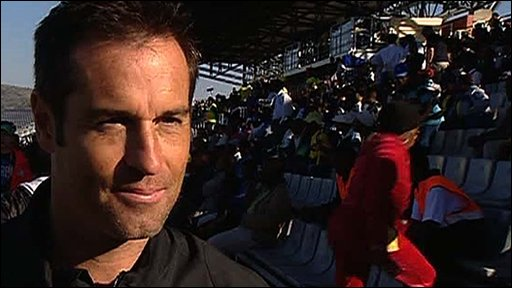 Former USA captain John Harkes
