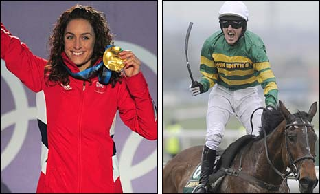 Amy Williams and Tony McCoy