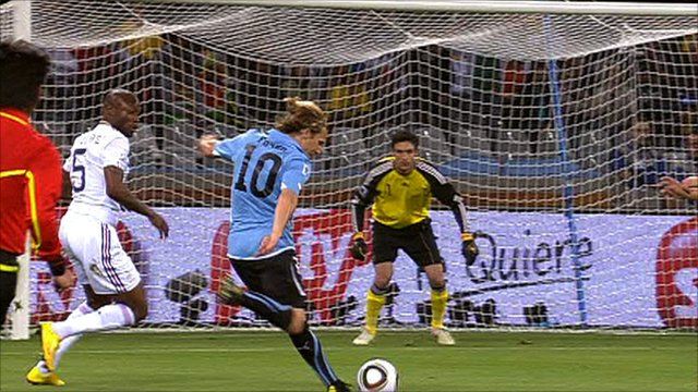 Diego Forlan shoots