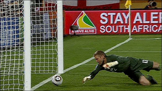 England's Robert Green