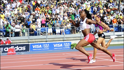 Veronica Campbell-Brown edges out Allyson Felix