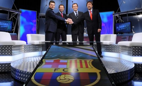 Barcelona's presidential candidates