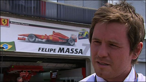 Felipe Massa's race engineer Rob Smedley