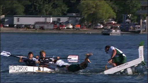 Williams win Montreal kayak race