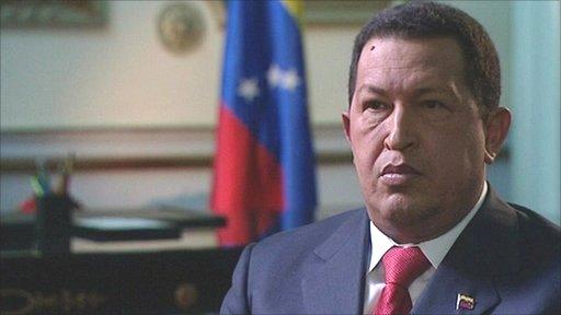 Venezuela president, Hugo Chavez
