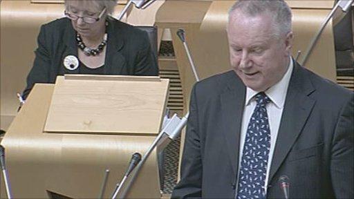 Communities Minister Alex Neil led the debate