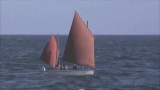 Jumbo boat launch film