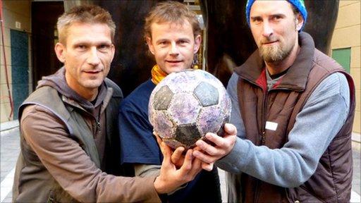 Spirit of Football's founders