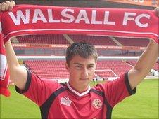 Walsall defender Darryl Westlake