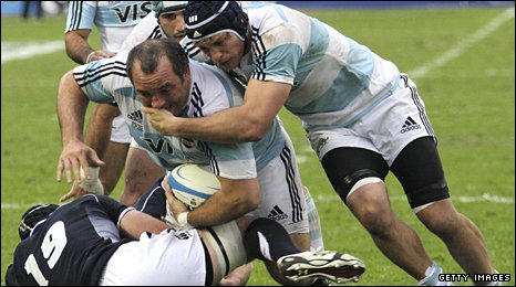 Scotland eased to victory over the Pumas in the opening Test