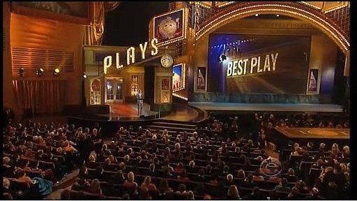 The Tony Awards at New York's Radio City Music Hall