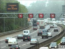 The M42 - one of the busiest motorways in the UK