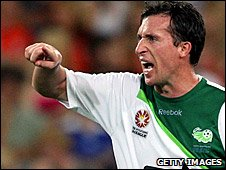 Robbie Fowler playing for North Queensland Fury