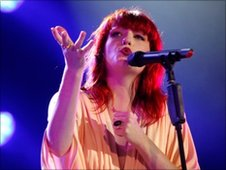Florence of Florence and The Machine