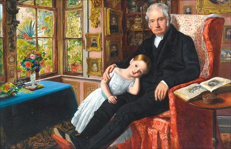 James Wyatt and his Granddaughter Mary Wyatt