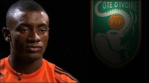 Ivorian forward Saloman Kalou