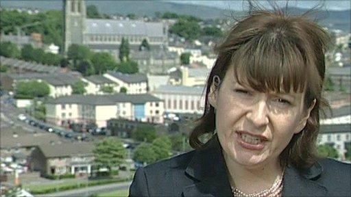 BBC's Ruth McDonald